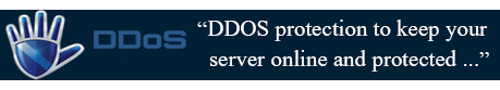 DDOS protection included on all dedicated servers